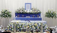 家族葬  斎場常設  白木祭壇
