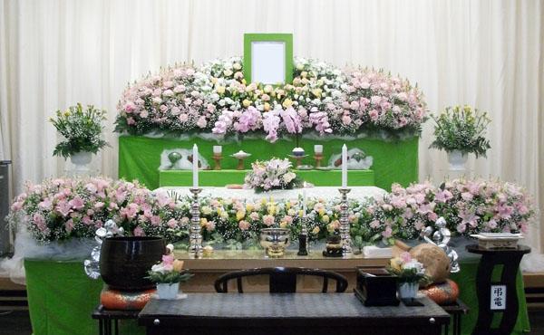 浦安市斎場花祭壇施行事例004